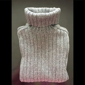 AE Outfitters Gray Turtleneck Sweater, 100% Cotton